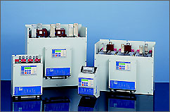 Устройство плавного пуска RVS-DX.  Тиристорный регулятор мощности.